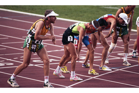 File:Paul Croft getting ready to run at 1992 games.jpg ...