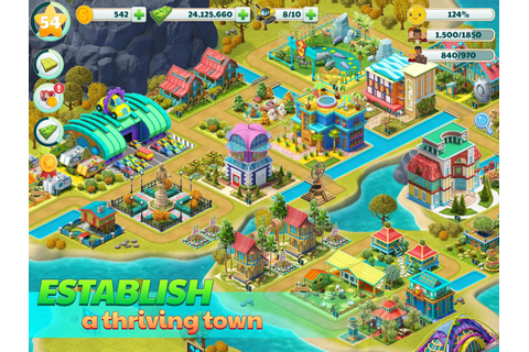 Town City - Village Building Sim Paradise Game for Android ...