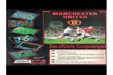 Manchester United Europe - Acorn Archimedes gameplay - YouTube