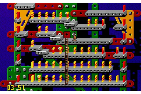 Download Pushover puzzle for DOS (1992) - Abandonware DOS