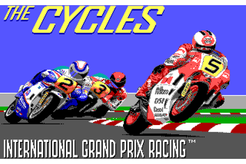 The Cycles: International Grand Prix Racing (1989) by ...