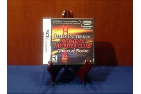 James Patterson Women's Murder Club Games of Passion ...