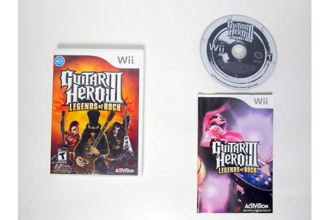 Guitar Hero III: Legends of Rock game for Wii (Complete ...