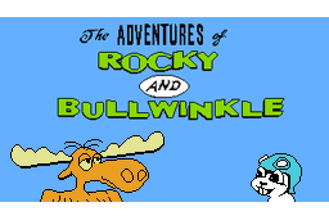 Rocky and Bullwinkle & Friends - NES Gameplay - YouTube