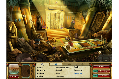 Curse of the Pharaoh: The Quest for Nefertiti on Qwant Games