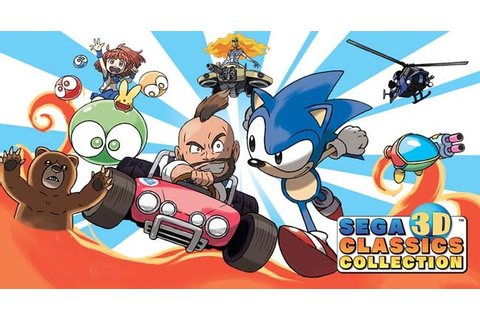 SEGA 3D Classics Collection Decrypted 3DS ROM Download ...