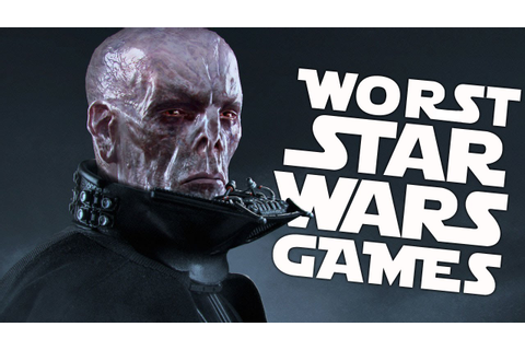 10 Worst Star Wars Games of All Time - YouTube