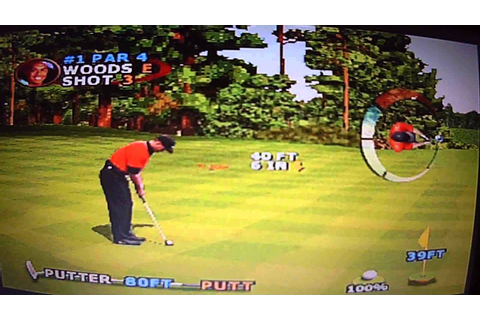 Retro Video Game Review: Tiger Woods PGA Tour 2000 - YouTube