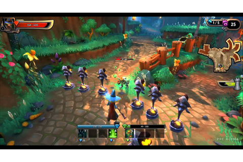 Dungeon Defenders 2 - Introduction (3- Gameplay, starting ...