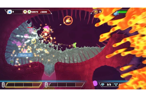 PixelJunk Shooter Ultimate Launch Trailer (PS4) - YouTube