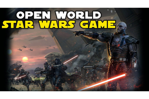 Star Wars New Open World Game - YouTube