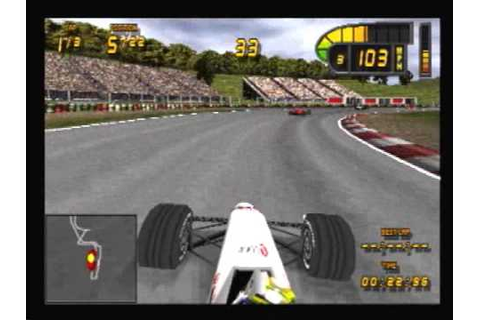 Sony PlayStation - Formula 1 '98 - YouTube