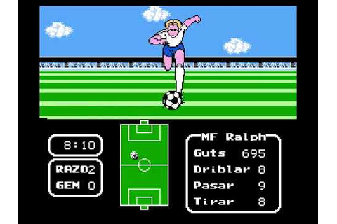 Tecmo Cup Football Game Parte 1 - YouTube