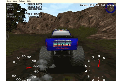 Monster Truck Madness 2 part 1 - YouTube