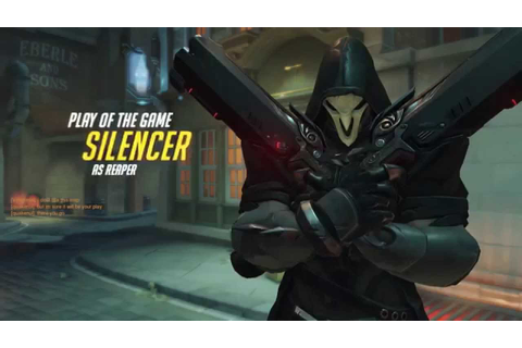 Overwatch Play of The Game - By Silencer - YouTube
