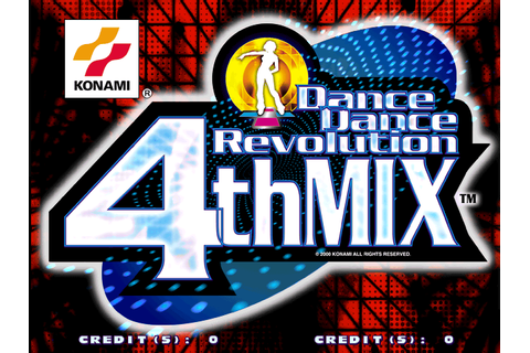 Game: Dance Dance Revolution 4th Mix [Arcade, 2001, Konami ...