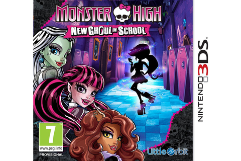Monster High New Ghoul in School - 3DS/2DS Game | Public