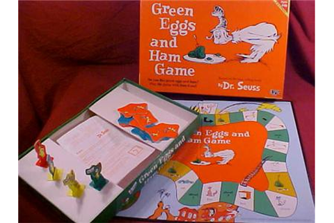 eBlueJay: 2000 DR. SEUSS GREEN EGGS AND HAM BOARD GAME