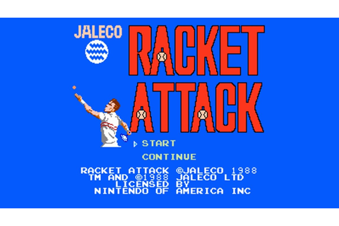 Racket Attack (NES) Game Hub – Nintendo Times