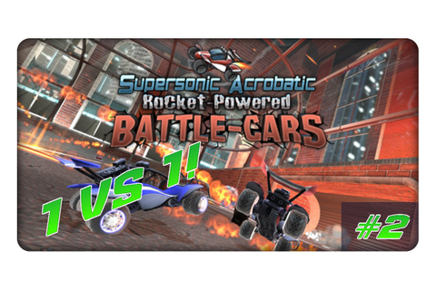 Supersonic Acrobatic Rocket-Powered Battle-Cars (2) 1 vs ...