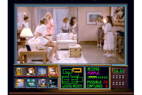 Night Trap Review for Sega CD (1992) - Defunct Games