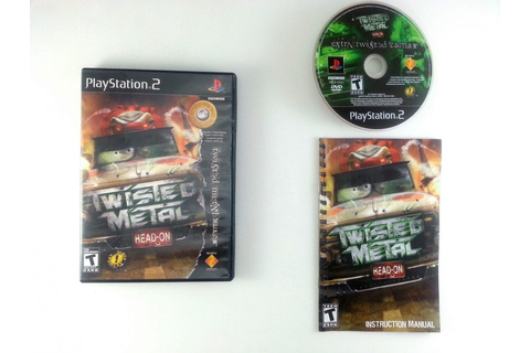 Twisted Metal Head On game for Playstation 2 (Complete ...