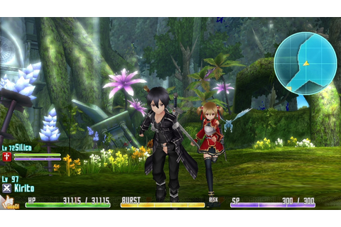 Silica, other heroines also in Sword Art Online for PS ...