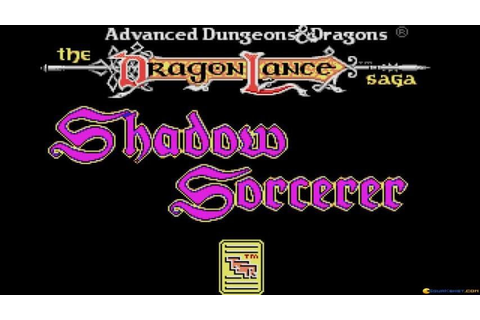 Shadow Sorcerer gameplay (PC Game, 1991) - YouTube