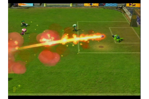 Mario Smash Football (GCN / GameCube) Screenshots