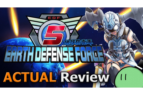 Earth Defense Force 5 (ACTUAL Game Review) [PC] - YouTube
