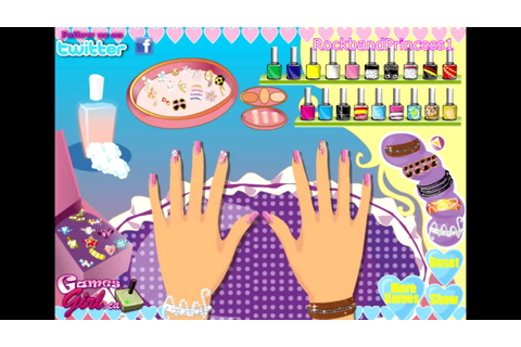 Barbie Nail Polish Salon Manicure Makeover Games Online ...
