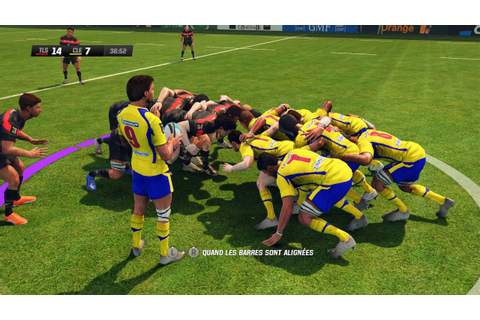 Toulouse - ASM Clermont : Rugby Challenge 2 [PC][FR] - YouTube