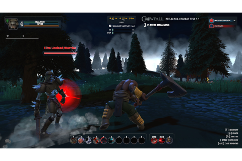 Crowfall Developers Move To 'Big World' Testing | GameWatcher