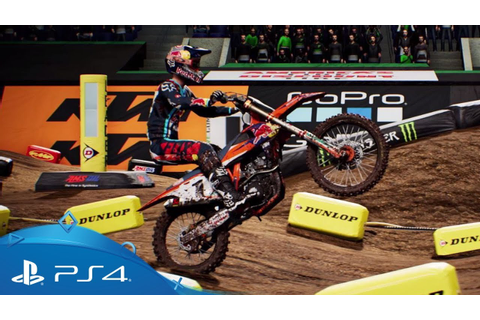 Monster Energy Supercross - The Official Videogame ...