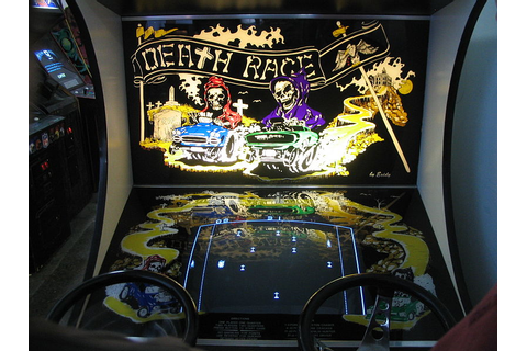 Training for DeathRace: Death Race - Video Game (1976)