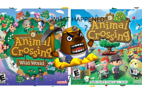 Dialogue Comparison in Animal Crossing Wild World vs New ...