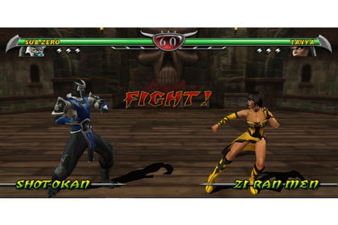 Play Mortal Kombat Unchained Online PSP Game Rom - PSP ...
