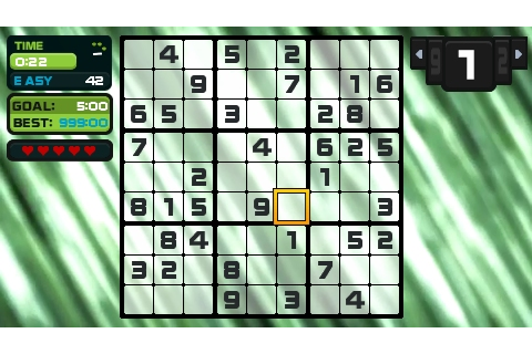 Go Sudoku PSP 10 - Vita Player - the one-stop resource for ...