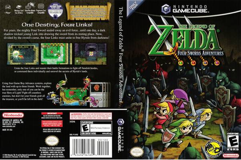 The Legend Of Zelda Four Swords Adventures ISO