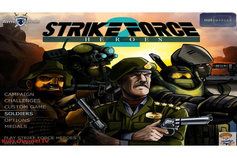 Kids TV Channel | Strike Force Heroes 2 | Shooting Games ...