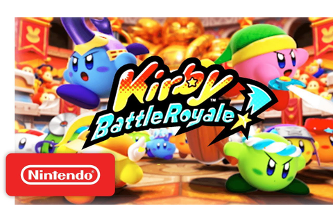 Kirby: Battle Royale - Reveal Trailer - Nintendo 3DS ...