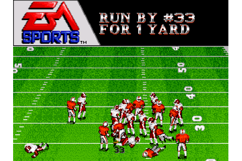 Bill Walsh College Football Screenshots | GameFabrique