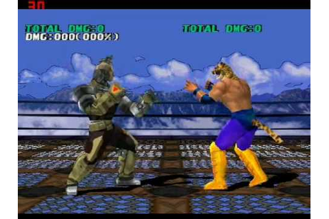 Tekken 3 Gun Jack power 157 damage counter attack ePSXe ...