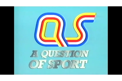 A Question of Sport (1987) - YouTube