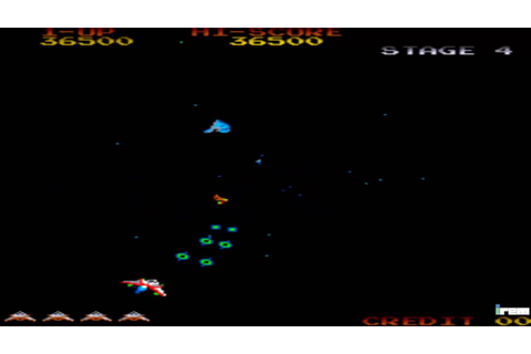 GYRUSS ARCADE GAMEPLAY - YouTube