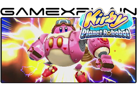 Kirby: Planet Robobot - Reveal Trailer (Nintendo Direct ...