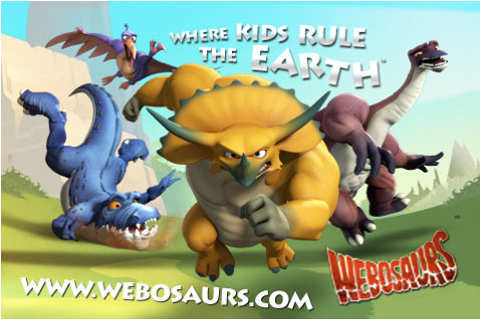 Webosaurs iPhone/iPod game launched! | pushplay.net