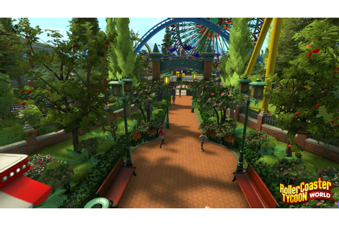 Rollercoaster Tycoon World: 5 New Screenshots - GamerBolt