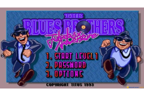Blues Brothers 2 gameplay (PC Game, 1993) - YouTube