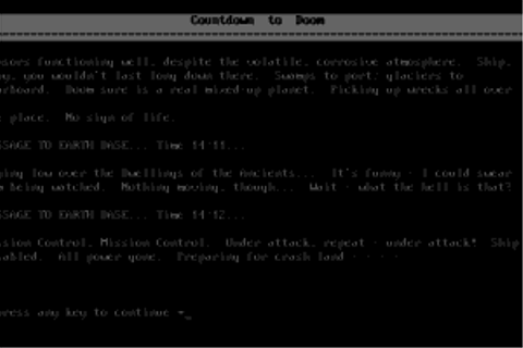 Download Countdown to Doom - My Abandonware